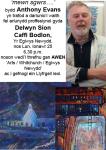 Delwyn Sion ac Anthony Evans